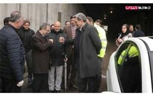 تصویر/ دست دادن ضد کرونایی شهردار و استاندار تهران!