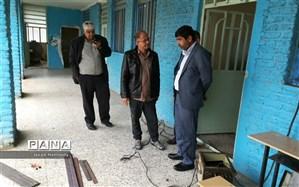 بازدیدریس آموزش وپرورش شهرستان حمیدیه ازمدارس مسیرگمبوعه