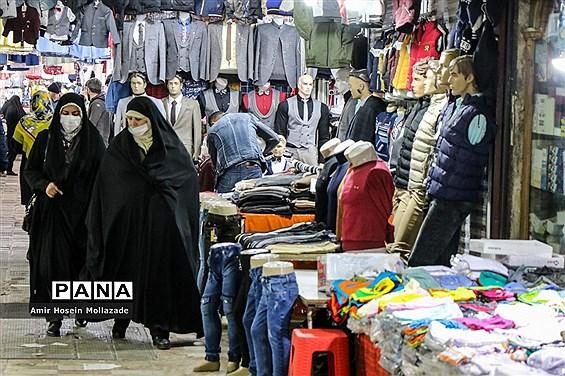 ماسک میهمان بازار شب عید