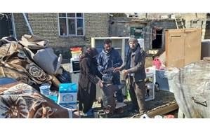 امدادرسانی به ۴۸۰۰ خانوار آسیبدیده از زلزله خوی