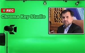 ضبط برنامههای آموزشی در استودیو کروماکی مرکز تحقیقات معلماناصفهان