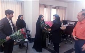 تجلیل معاون فرماندار اسلامشهر از تلاش های کارکنان شبکه بهداشت و درمان