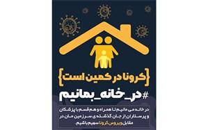 پیام معاون پرورشی و فرهنگی اداره کل اموزش و پرورش خوزستان  در خصوص پیوستن به پویش ملی در خانه می مانیم