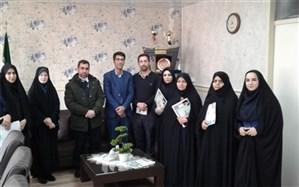 گرامیداشت هفته تربیت اسلامی در آموزش و پرورش چهاردانگه