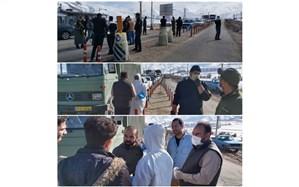 اعمال محدودیتهای تردد در ورودی شهرستان طالقان