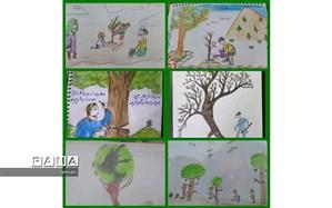 روز درختکاری در مدارس منطقه۲ مجازی برگزار شد
