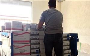 توزیع 27 تن مواد شوینده و ضدعفونیکننده در مازندران