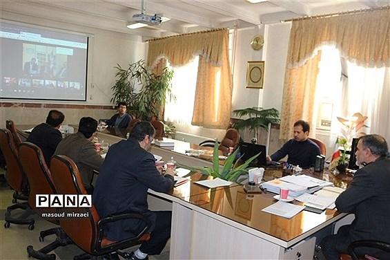 برگزاری شورای معاونان پشتیبانی آموزش و پرورش قزوین