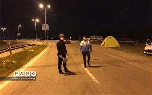 ورود گردشگران و مسافران به لالی ممنوع شد