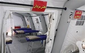 بیمارستان ۱۰۰ تختخوابی صحرایی سپاه در ارومیه راهاندازی شد