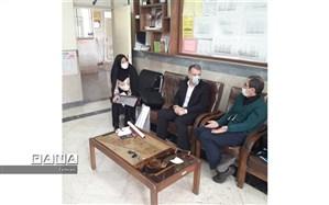 بازدید و نظارت بر ضدعفونی کردن مدارس منطقه ۱۳