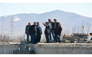 عملیات ساخت پل دو دهانه ١٨متری گدار در مراحل نهایی