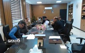 دومین جلسه منطقه ای کمیته مقابله با کرونا در منطقه 12 تهران