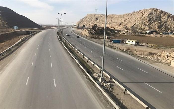 کاهش چشمگیر تردد در جادههای کشور