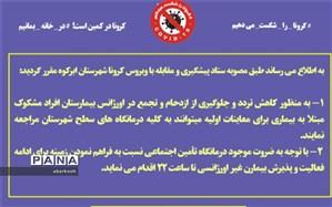راهاندازی پویش اطلاعرسانی کرونا در شهرستان ابرکوه
