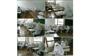 همت بلند دانشگاه فنی و حرفهای استان سمنان در تولید ماسک بهداشتی