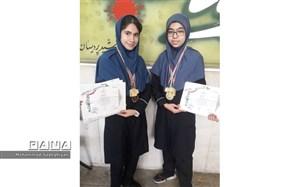 کسب مقام قهرمانی کاراته کشوری دانش آموزان دختر منطقه19
