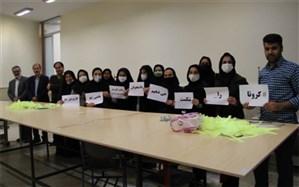 تولید ماسک با همت دانشجویان دانشگاه علمی کاربردی استان اصفهان و تولید کنندگان پوشاک