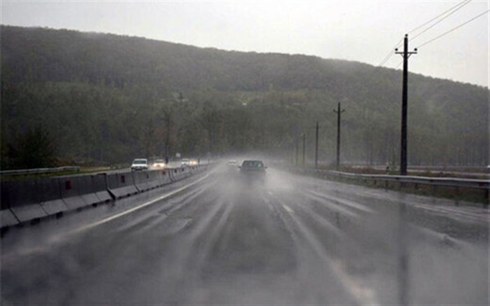 جاده بارانی