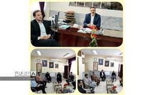 برگزاری آخرین نشست معاونین و کارشناسان اداری مدیریت آموزش و پرورش کلات  با مدیر اداره در سال ۹۸