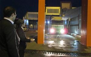 ضد عفونی تمام کامیونهای ورودی از جمهوری آذربایجان