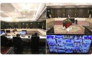 برگزاری ستاد ملی مدیریت کرونا به ریاست  رئیس جمهوری