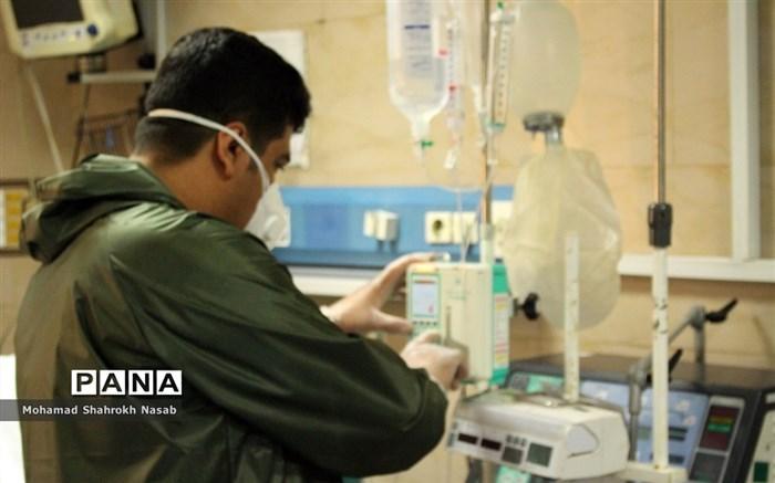 پرستاران بیمارستان رازی اهواز در خط مقدم مبارزه با کرونا ویروس