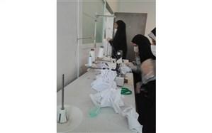 جمالی: 20هزار ماسک از سوی هنرستان های تهران تولید شده است
