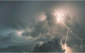 رگبار قابل ملاحظه، باران و رعدوبرق با احتمال تگرگ