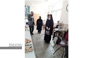 تولید ماسک های بهداشتی با مشارکت هنرستان  وحدت منطقه چهار
