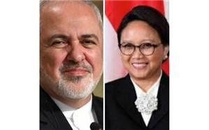 رایزنی وزیران امور خارجه ایران و اندونزی در مورد شیوع جهانی ویروس کرونا