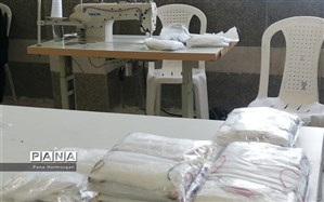 راه اندازی۴ واحد تولید ماسک بهداشتی در هنرستان های ناحیه یک بندرعباس