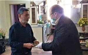 ابلاغ پیام تسلیت مدیرکل آموزش و پرورش شهرستانهای استان تهران به خانواده آموزگار فقیدشهرری