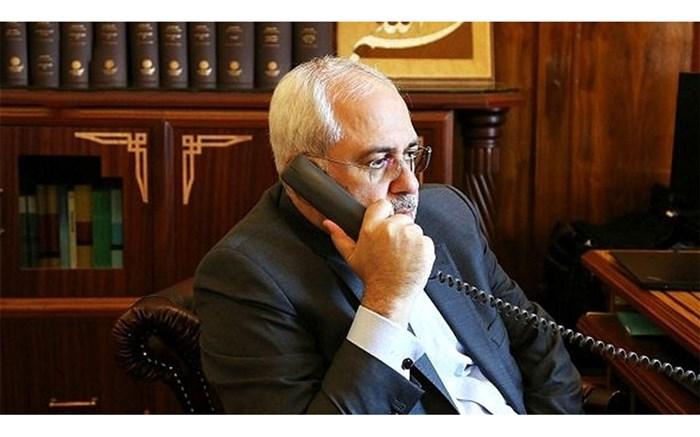 ظریف - گفت و گوی تلفنی