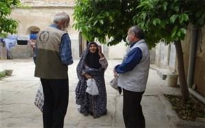 بسته های بهداشتی در بوشهر توزیع شد