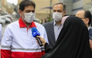 کمک ۵۰۰ هزار فرانکی صلیب سرخ به هلال احمر ایران در بحران کرونا