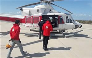 امدادرسانی هلال احمر به بیش از ۳۸۰۰ نفر طی 72 ساعت گذشته