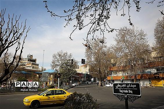 تهران آرام