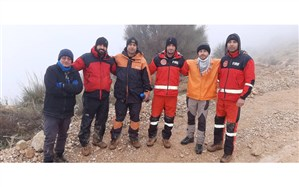 نجات دو کوهنورد در ارتفاعات دراک