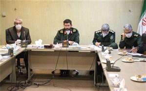 برگزاری نشست هماهنگی اجرای طرح بسیج ملی مبارزه با کرونا در فرمانداری اسلامشهر