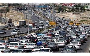 آزادراه کرج تهران؛  بیشترین تردد در 24 ساعت گذشته