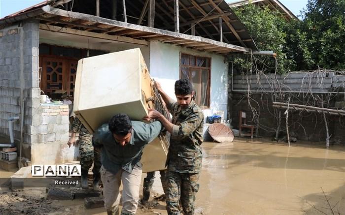 امدادرسانی به منطقه سیلزده سیمرغ