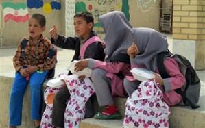 بهره مندی دانش آموزان محروم تربت حیدریه از کمک های خیرین در سال جدید