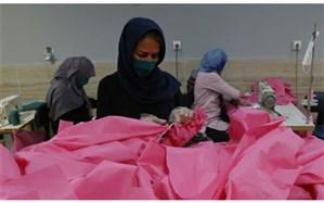 روزانه سه هزار ماسک و گان ویژه مراکز بهداشتی و درمانی در مرکز یادگیری یاددهی بایگ تربت حیدریه تولید می شود.