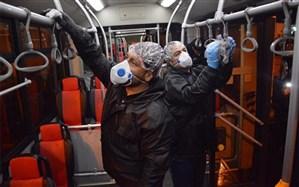 تحویل ۶۰۰۰ «ماسک ضد ویروس» به اتوبوسرانان پایتخت
