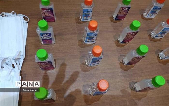 توزیع بسته های بهداشتی در بوشهر