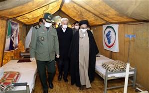 سپاه و بسیج در صحنه پشتیبانی از مدافعان سلامت حضور فعال دارند