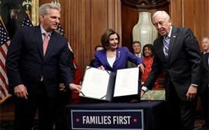 کنگره آمریکا لایحه ۲ تریلیون دلاری مقابله با کرونا را تصویب کرد