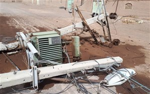خسارت بیشاز یک میلیارد تومانی سیلاب به شبکه برق سیستان و بلوچستان