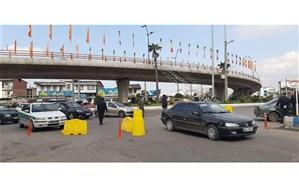 218 خودروی متخلف در جادههای مازندران متوقف شدند